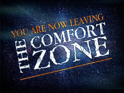 PowerPoint Template on Leaving The Comfort Zone