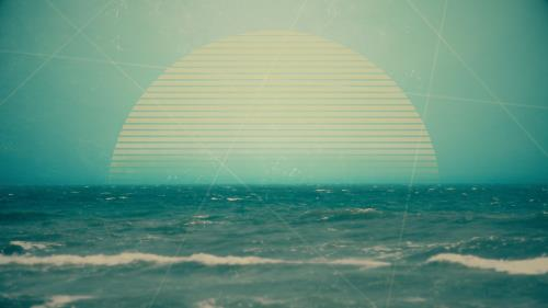 view the Motion Background Vintage Ocean 02