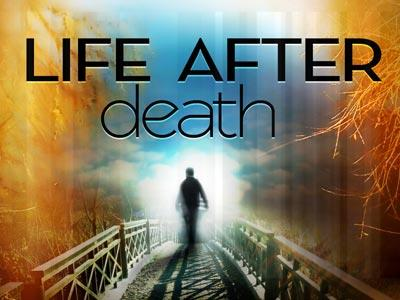 view the PowerPoint Template Life  After  Death 2
