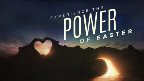 view the PowerPoint Template Power Of Easter Tomb