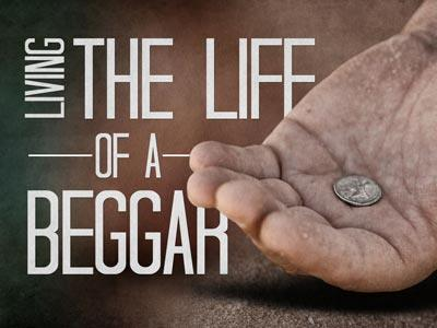 PowerPoint Template on Life Of A  Beggar