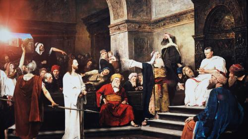 view the Video Illustration The Trial Of Jesus