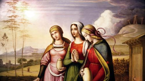 view the Video Illustration The Risen Jesus Appears To The Women