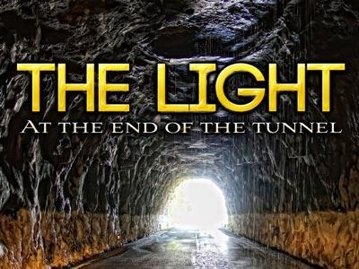 PowerPoint Template on Light At The End Of The Tunnel