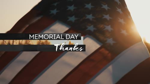 view the Video Illustration Memorial Day Thanks