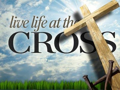 PowerPoint Template on Live  Life At The  Cross