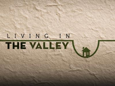 PowerPoint Template on Living In The  Valley