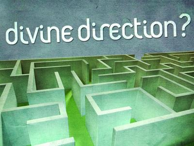 PowerPoint Template on Looking For Divine Direction