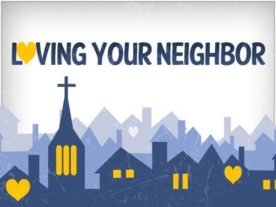 PowerPoint Template on Loving  Your  Neighbor