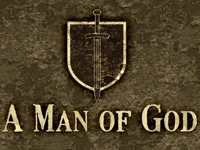PowerPoint Template on Man Of  God