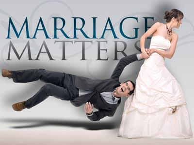 Marriage  Matters PowerPoint Template