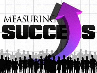 PowerPoint Template on Measuring  Success