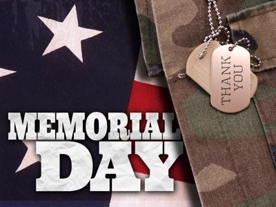 PowerPoint Template on Memorial  Day Tags