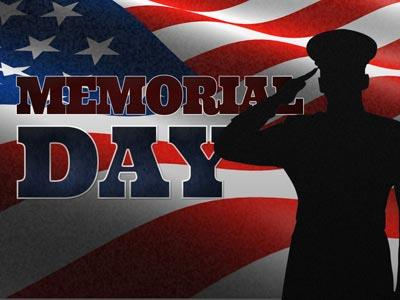PowerPoint Template on Memorial Day Salute