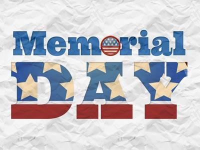view the PowerPoint Template Memorial  Day