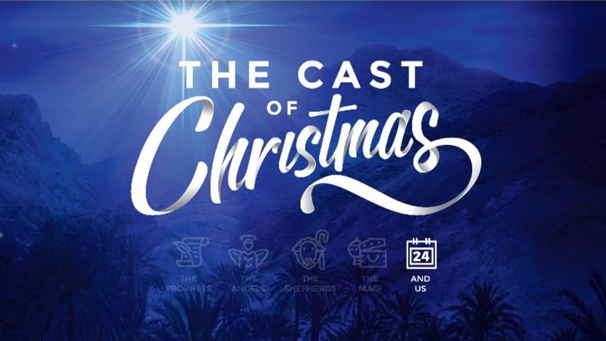PowerPoint - Week 5 - Christmas Eve - The Cast of Christmas Preaching Slide