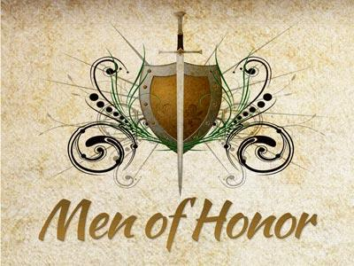 PowerPoint Template on Men Of  Honor