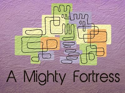 view the PowerPoint Template Mighty  Fortress