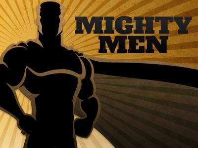 PowerPoint Template on Mighty  Men