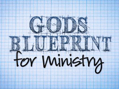 Ministry Blueprint. PowerPoint Template