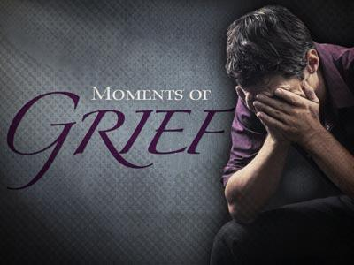 PowerPoint Template on Moments Of  Grief