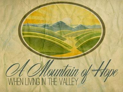 PowerPoint Template on Mountain Of  Hope