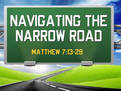 PowerPoint Template on Navigating The Narrow Road