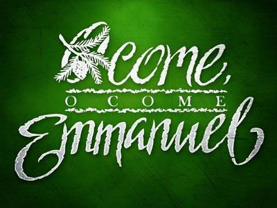 PowerPoint Template on O Come O Come Emmanuel With Lyrics