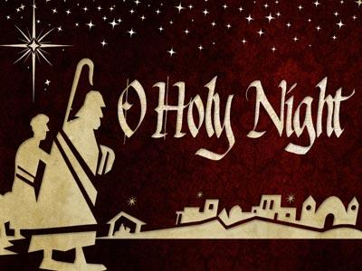 PowerPoint Template on O Holy Night