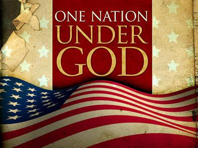 view the PowerPoint Template One Nation Under God