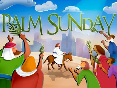 PowerPoint Template on Palm  Sunday 1