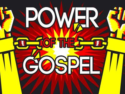 PowerPoint Template on Power Of The  Gospel