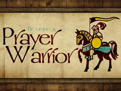 PowerPoint Template on Prayer Warrior