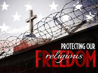 PowerPoint Template on Protecting Our Religious Freedom