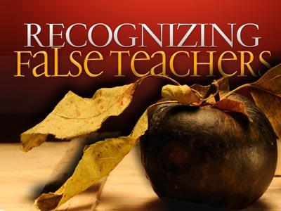 PowerPoint Template on Recognizing False Teachers