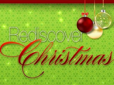 PowerPoint Template on Rediscover Christmas