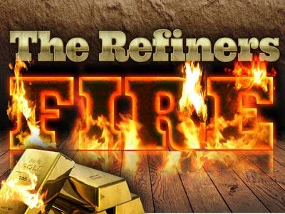 PowerPoint Template on Refiners Fire