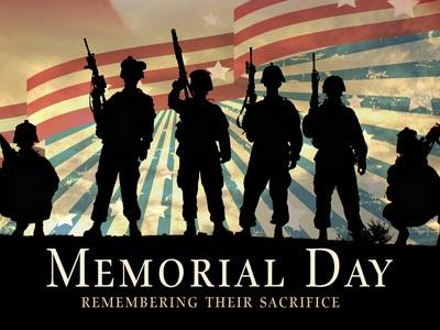 PowerPoint Template on Remembering Their Sacrifice