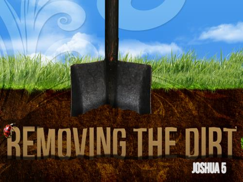 PowerPoint Template on Removing The Dirt