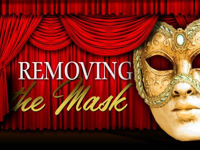 PowerPoint Template on Removing The  Mask