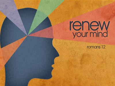 view the PowerPoint Template Renew Your Mind