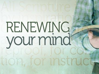 PowerPoint Template on Renewing Your Mind Bible