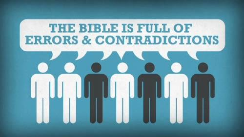 Video Illustration on The Bible Is Full Of Errors
