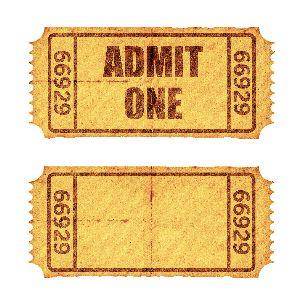 Image on Admission Ticket