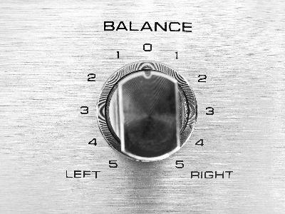 view the Image Balance Knob