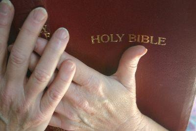 Image on Bible Hands