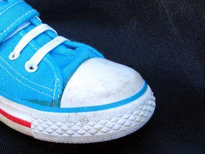 view the Image Blue Shoe