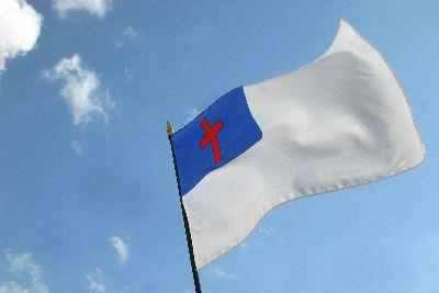 Image on Christian Flag