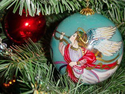 Image on Christmas Angel