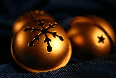 Image on Christmas Bells Black